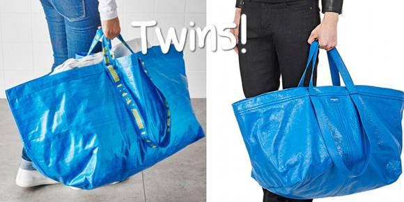 niebieska skórzana torebka