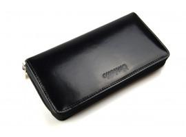 Skórzany portfel damski na zamek Cartello D271