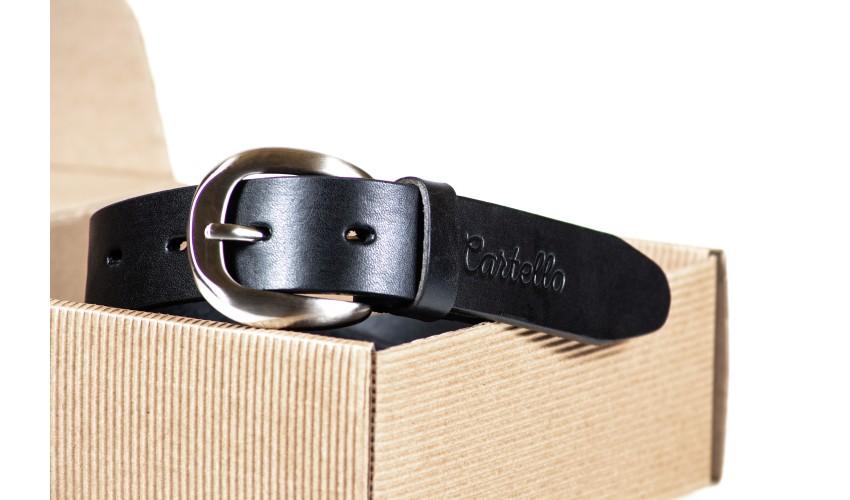 Pasek skórzany Cartello P-0130