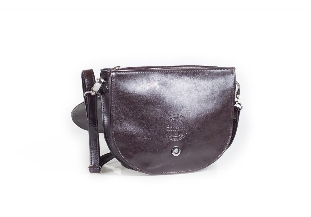 8aafee72f011c Skórzana damska torebka na ramię