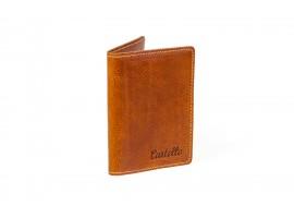 skórzane portfele męskie bez podszewki
