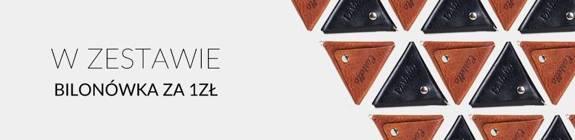 cienkie portfele skórzane