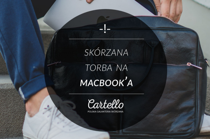 Skórzana torba do Macbooka